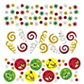 Amscan Fun-Filled Angry Birds Birthday Party Confetti Decoration (Pack of 1), Multicolor, 1.2 oz