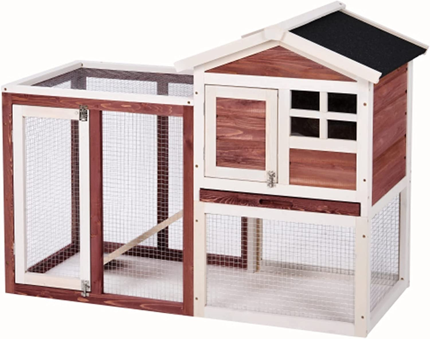 JITUO Wooden Free shipping anywhere in the nation Pet Direct store House Rabbit C Dog Wood Hutch Bunny