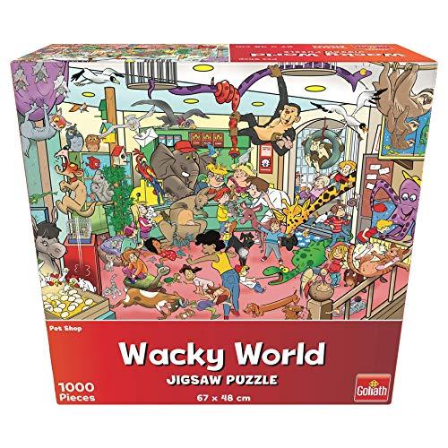 Goliath- Puzzle Tienda de Mascotas Wacky World, Multicolor (918557006)