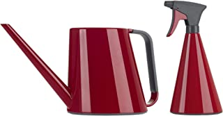 Emsa Loft Watering Can Bundle Loft Sprayer, High Gloss, Ruby Red