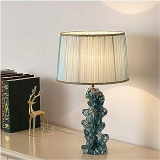 """Lampes de table Lampe De Salon Lampe de table Crystal Accent 21.7""""Tissu coloré de couleur de haute couleur pour la chambre..."""