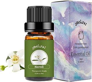 yethious Neroli Essential Oils 100% Organic Pure Essential Oil Therapeutic Grade Aromatherapy Gift Oil 10ml