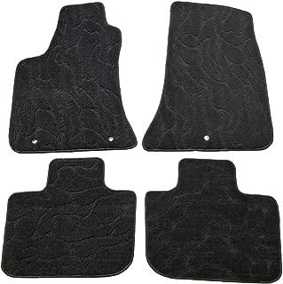QianBao Front & Rear Nylon Water Ripple 4PC Car Floor Carpets Liner Floor Mat Fits AWD Chrysler 300 2011 2012 2013 2014 2015 2016