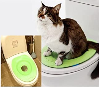 NABIUGI Cat Kit Kitty Pet Toilet Seat Training System