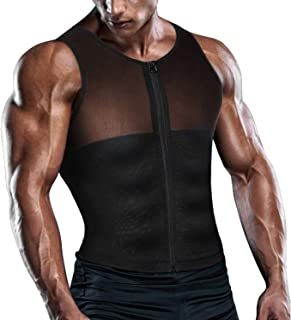 08e4917788ec4 TAILONG Men Shirt Vest Slimming Underwear Body Shaper Tight Tank Top Waist  Trainer Tummy Control Girdle