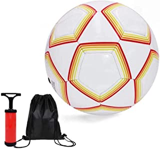 サッカーボール 小学生用4号 【空気入れポンプ、ボールバッグ付】