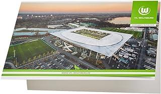 Glückwunschkarte Arena VFL Wolfsburg