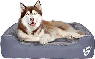 Wenosda Pet Bed Dog Kennel Round Cat Nest Doghouse Saco de Dormir Profundo Four Seasons of Puppy Mat Fossa para Gatos Perr...