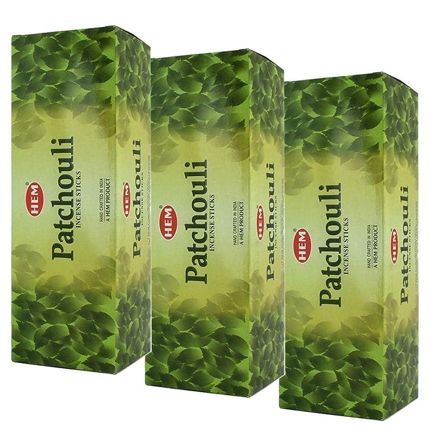 アンデス山脈記憶に残るイルHem Patchouli Incense、3ボックス?–?(360?Sticks per order) バルクOrder