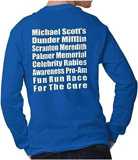 Brisco Brands Dunder Run Race Cure Funny Scranton TV Comedy Long Sleeve Tee