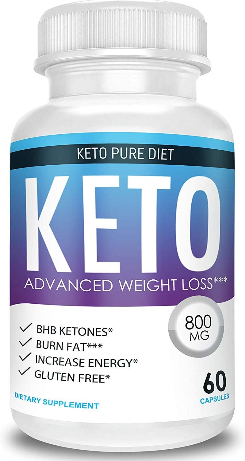 Amazon Com Keto Pure Diet Advanced Weight Loss Ketosis Supplement Health Personal Care