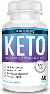 Keto Pure Diet – Advanced Weight Loss – Ketosis Supplement