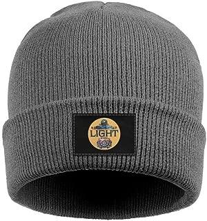 Wudo Unisex Cuffed Schlitz Beer Logos Knit Beanie Cap Skull Cap Hats Knit Cap