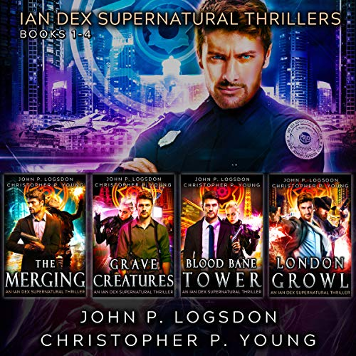 The Ian Dex Supernatural Thriller Series: Books 1 - 4 (Las Vegas Paranormal Police Department Box Sets)                   By:                                                                                                                                 John P. Logsdon,                                                                                        Christopher P. Young                               Narrated by:                                                                                                                                 John P. Logsdon                      Length: 18 hrs and 30 mins     28 ratings     Overall 4.7