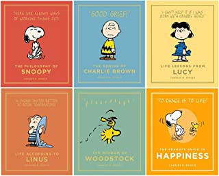Peanuts Guide to Life 6 Books Collection Set