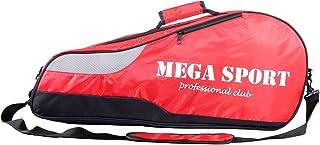 3 Racquet Tennis Bag with Shoe Compartment for Men Women, Badminton Equipment Bag, Tennis Racket Cover Holder Case Carryin...