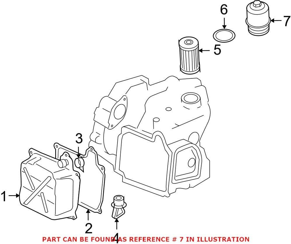 Genuine OEM Al sold out. Transmission Max 52% OFF Filter Housing 02E305045 Audi for