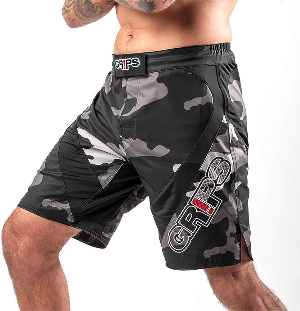 Pantalones Cortos de Muay Thai MMA Shorts Integral Sanda Fighting Fighting Fitness Shorts Competici/ón Ropa MMA Kick Boxing Troncs