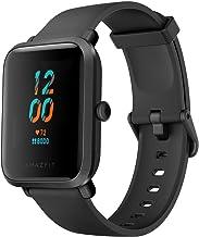 ساعت هوشمند Amazfit Bip S Fitness ، عمر باتری 40 روزه ، 10 حالت ورزشی ، ضربان قلب ، صفحه نمایش 1.28 اینچی همیشه روشن ، مقاوم در برابر آب ، GPS داخلی ، کربن سیاه