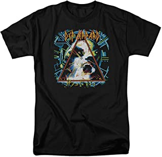 Def Leppard Hysteria 80s Rock Album T Shirt & Stickers