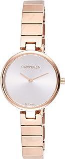 Calvin Klein Women's Quartz Watch, Analog Display and Stainless Steel Strap K8G23646