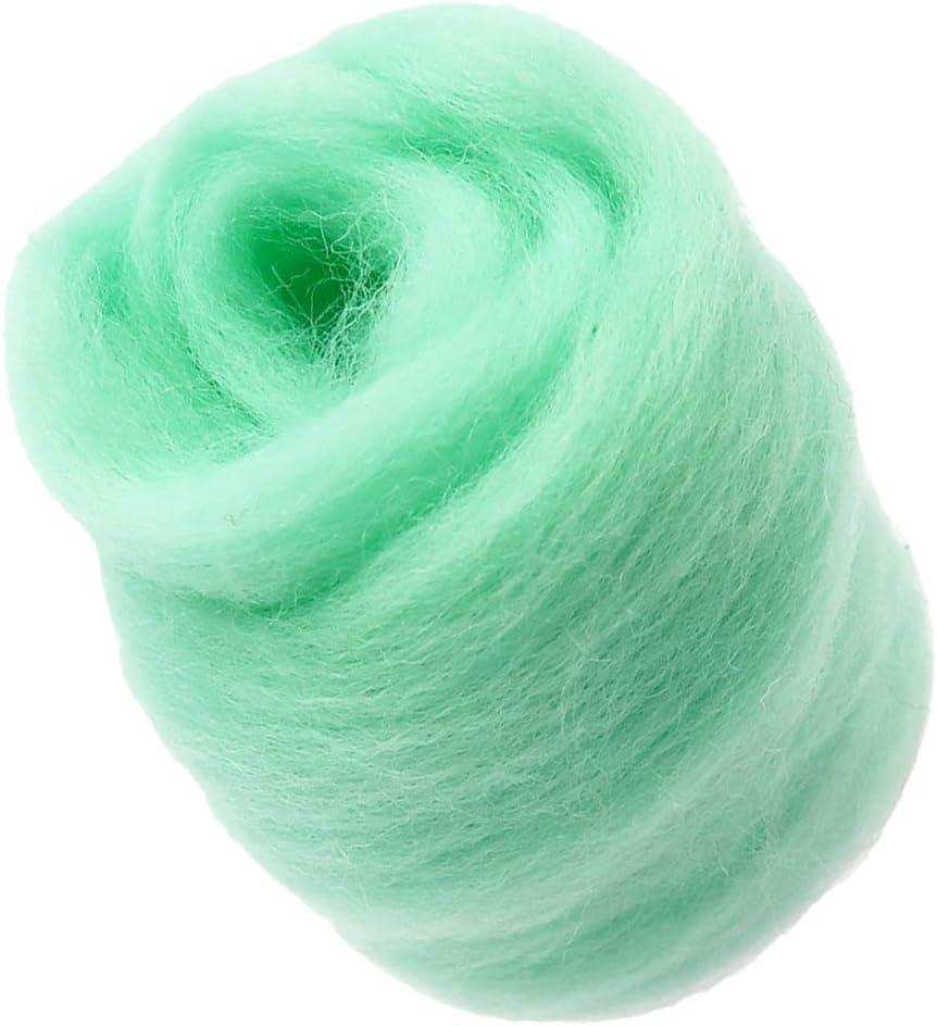 Finally popular brand dailymall 10g Quality inspection Handmade Wool Top Felting Materia Roving Fibre for