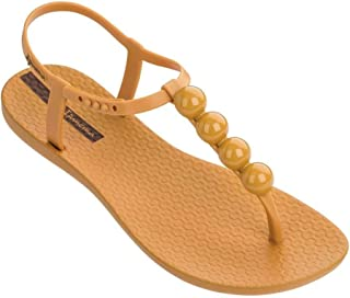 Ipanema Charm Amber Pebble Rubber Sandal