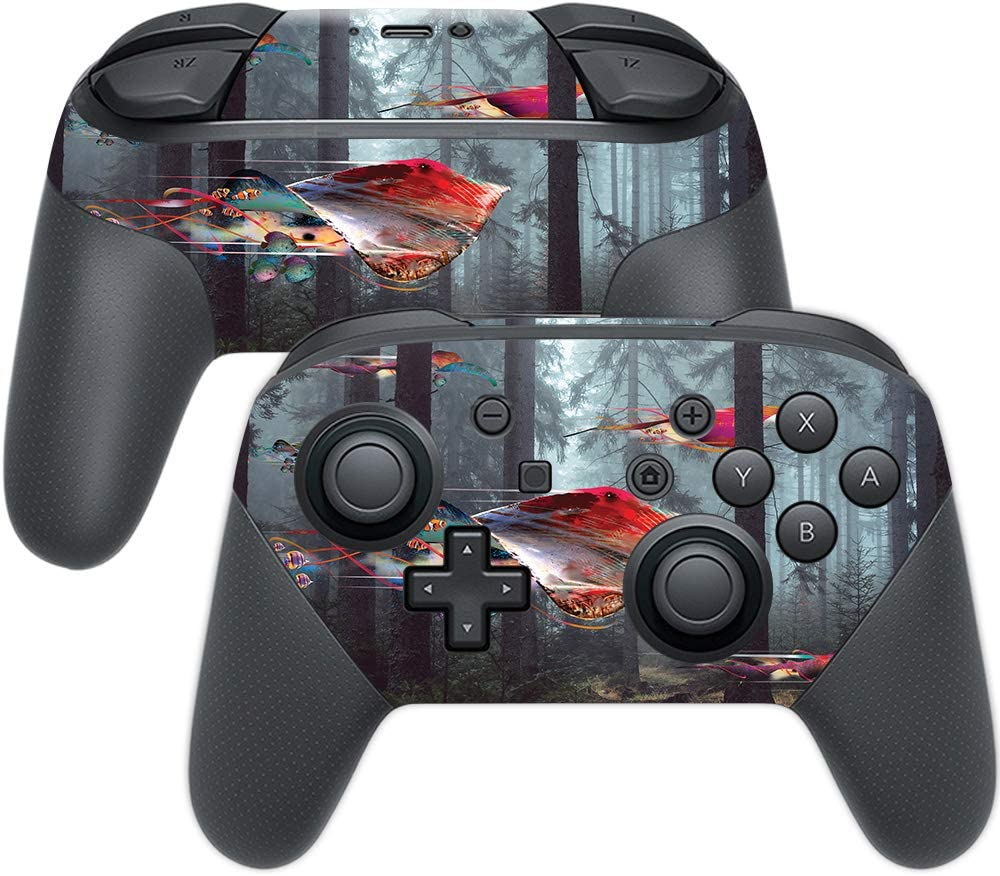 MightySkins Skin Compatible with Switch In stock Controller Kansas City Mall Nintendo Pro