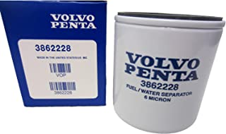 OEM Volvo Penta Gasoline Spin-On Fuel Filter 1994-2007 V6/V8 Models 3862228 by Volvo Penta