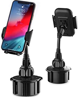 Kinhan Cell Phone Holder for Car, Cupount XS Cup Holder Cell Phone Mount for Car Truck Golf Cart Accessories Compatible with iPhone,Samsung Galaxy, etc