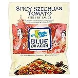 Blue Dragon Revuelva Salsa De Alevines - Szechuan Tomate Picante (120g) (Paquete de 6)
