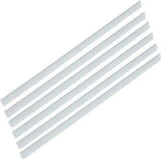 FIS Plastic Sliding Bar 3mm, 30 Sheets Capacity, Clear Color, Box of 100 Pcs. - FSPG03-CL