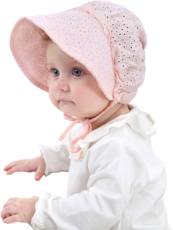 Amazon Co Jp ベビー帽子 赤ちゃん用 かわいい 新生児 ハット 北欧 0 18ヶ月 コットン素材 男の子 女の子 日よけ帽子 春夏 Uvカット 通気性良い サイズ 調節可能 あこ紐付き キャップ 退院 出産祝い お宮参り プレゼント 45センチ ピンク 服 ファッション小物