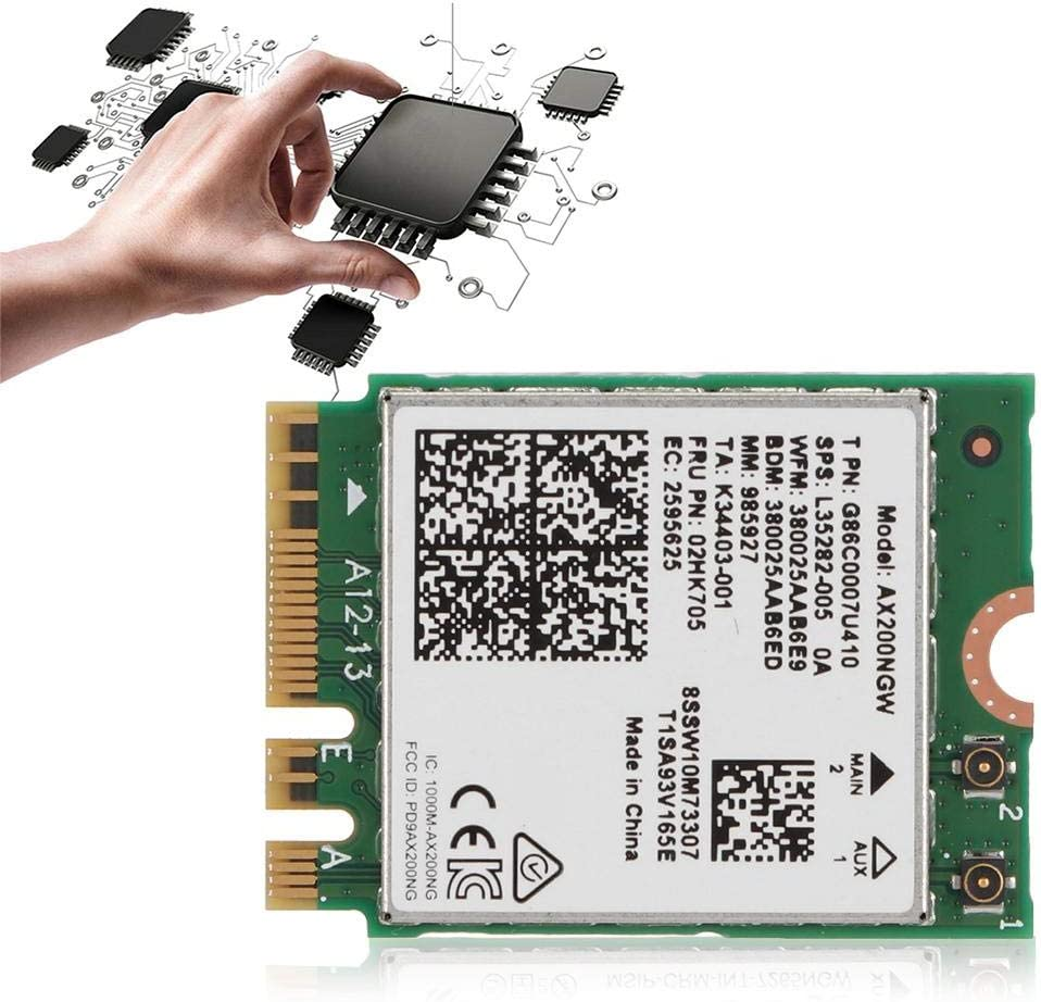 Bracon Network gift Card Pci-e - Internet 6 Online limited product Wi-Fi NGFF M.2 AX200 Netw