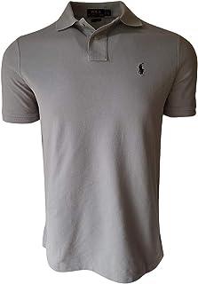 Polo Ralph Lauren Mens Custom Slim Fit Mesh Polo Shirt