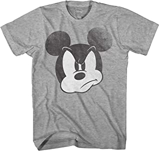 Disney Mad Mickey Mouse Adult Mens T-Shirt