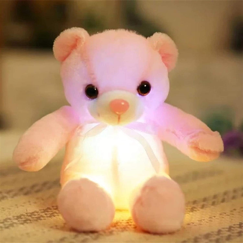 YYGQING 32 50cm Big Colorful Glowing Luminous Bear Free shipping / New Toys Omaha Mall Plush Ka