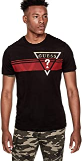 GUESS Factory Men's Pekah Logo Crewneck Short Sleeve Tee