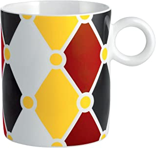 Alessi mw58 1 Circus Mug en Bone China, multicolor