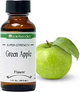 LorAnn Green Apple Super Strength Flavor, 1 ounce bottle
