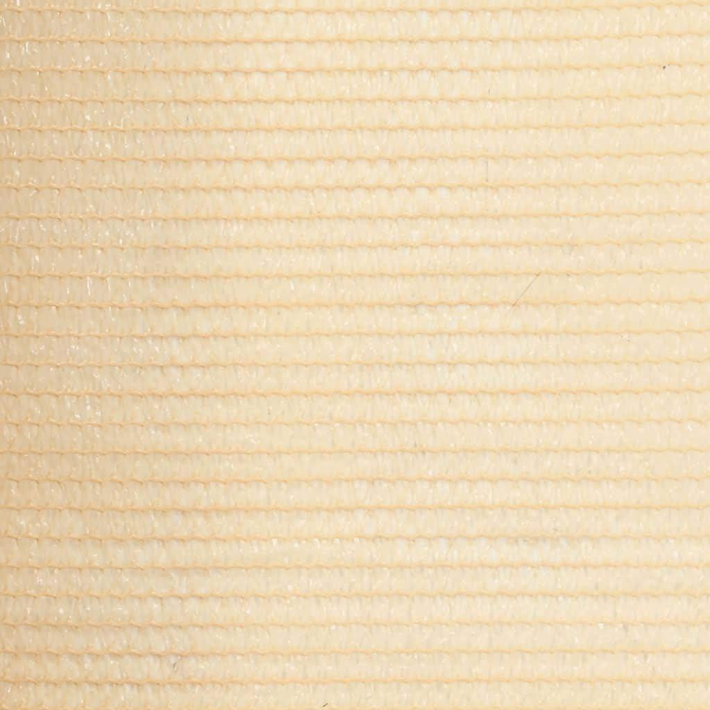 R/ésistance /à la Moisissure et aux UV Tidyard Brise Vue Renforc/é 1,5 x 50 m Beige PEHD Respirant