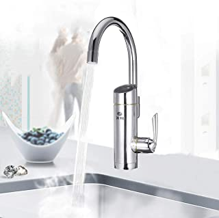 Strong Durable 220V 3000W Bathroom Kitchen Electric Faucet Tap Instant Hot Cold Water Heater