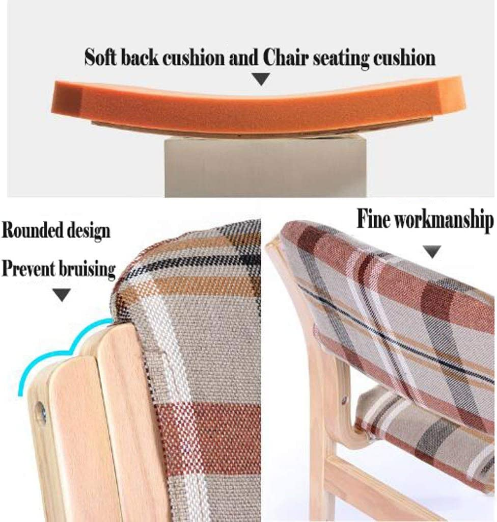 Cute Stool Chendz Chaise de Bureau Moderne et Minimaliste en Tissu Triangle Rouge.