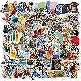 100PCS Avatar The Last Airbender Aufkleber Anime-Karikatur-Aufkleber Lustige DIY Gepäck Laptop Skateboard-Motorrad-Fahrrad-Auto-Abziehbilder