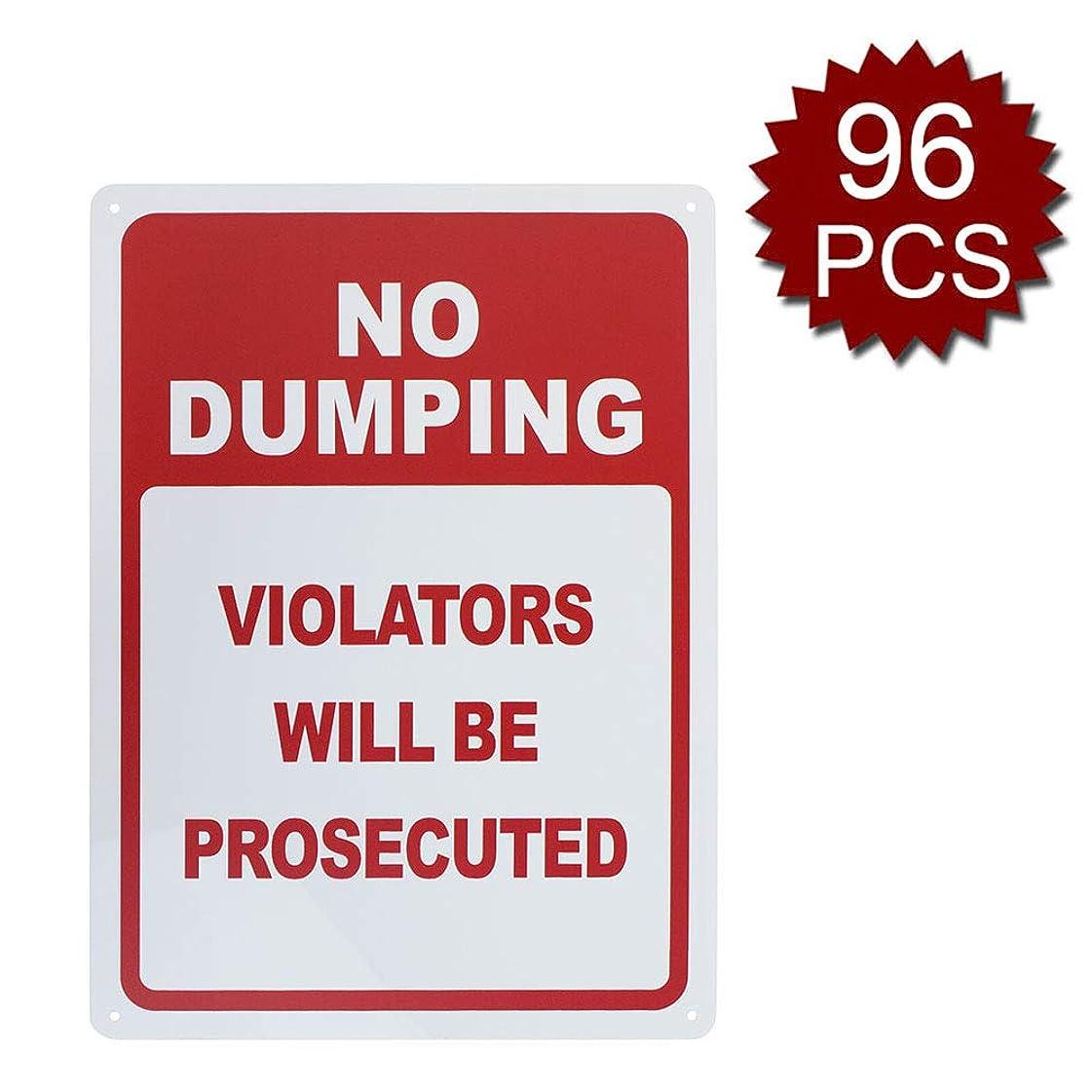 アドバイスマットレス中級Aspire Aluminiumダンピング違反のない人は 起訴されるでしょう UV印刷と耐候性 - No Dumping/96個入り - 25.40cm W x 35.56cm L
