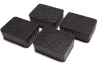 Gummiauflage   KIT mit 4 Gummiklötzen für Kfz Hebebühnen. Abmessungen des Gummiklotzes 160 x 120 x 70 mm