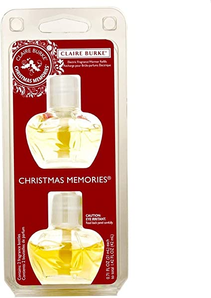 Claire Burke Christmas Memories Electric Fragrance Warmer Refill
