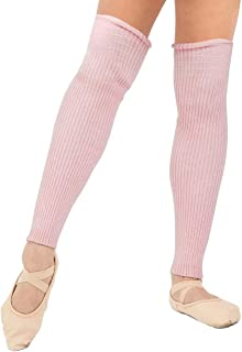 Capezio Soft Knit Legwarmers Pink or Purple Geometric Design Ladies One size New