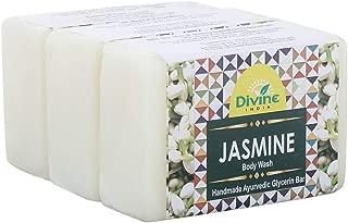 Divine India Jasmine Soap, 125g (Pack of 3)