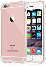 JGD PRODUCTS Shock Proof Protective Soft Back Case Cover for iPhone 6/6S (Transparent) [Bumper Corners with Air Cushion Technology]